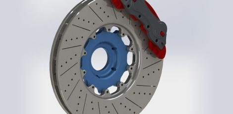 Disc Brake with Caliper