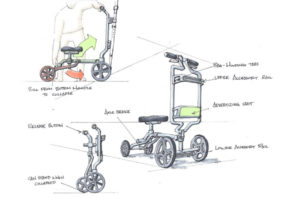 Medical product design - Scooter