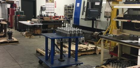 Precision Machine Shop in Houston